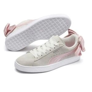 Puma Suede Pink Bow sneakers